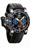 Graham Chronofighter Oversize GMT Steel Mens Wristwatch 2OVGS.B26A
