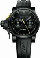 Graham Chronofighter Trigger Mens Wristwatch 2TRAB.B11A