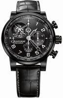 Graham Silverstone Tourbillograph Mens Wristwatch 2TSAB.B02A