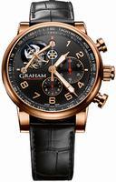 Graham Silverstone Tourbillograph Mens Wristwatch 2TSAR.B04A