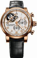 Graham Silverstone Tourbillograph Mens Wristwatch 2TSAR.W01A