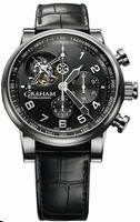 Graham Silverstone Tourbillograph Mens Wristwatch 2TSAS.B02A