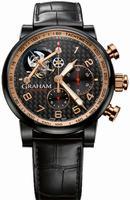 Graham Silverstone Tourbillograph Mens Wristwatch 2TSAZ.B03A