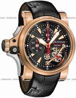 Graham Tourbillograph Trigger Mens Wristwatch 2TTAR.B03A.C86B