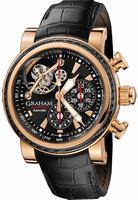 Graham Tourbillograph Silverstone Woodcote Mens Wristwatch 2TWAE.B02A.C104B