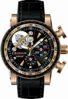 Graham Tourbillograph Limited Edition of 25 Pieces Mens Wristwatch 2TWBE.B07A.C104C