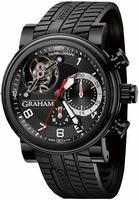 Graham Tourbillograph Trackmaster Mens Wristwatch 2TWTB.B03A