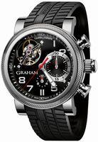 Graham Tourbillograph Trackmaster Mens Wristwatch 2TWTS.B05A
