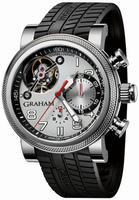 Graham Tourbillograph Trackmaster Mens Wristwatch 2TWTS.S03A
