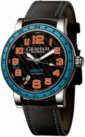 Graham Silverstone Time Zone Mens Wristwatch 2TZAS.B01A