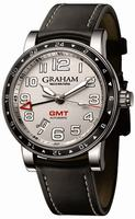 Graham Silverstone Time Zone Mens Wristwatch 2TZAS.S01A