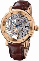 Ulysse Nardin Maxi Skeleton Mens Wristwatch 3006-200