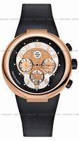 Philip Stein Teslar Active Chronograph Unisex Wristwatch 32-ARG-RBB
