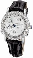Ulysse Nardin GMT +/- Perpetual Mens Wristwatch 320-28/31