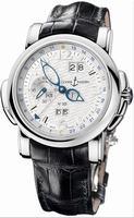 Ulysse Nardin GMT +/- Perpetual 42mm Mens Wristwatch 320-60/60