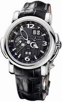 Ulysse Nardin GMT +/- Perpetual 42mm Mens Wristwatch 320-60/62