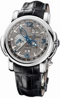 Ulysse Nardin GMT +/- Perpetual 42mm Mens Wristwatch 320-60/69
