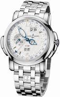Ulysse Nardin GMT +/- Perpetual 42mm Mens Wristwatch 320-60-8/60