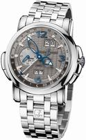 Ulysse Nardin GMT +/- Perpetual 42mm Mens Wristwatch 320-60-8/69