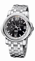 Ulysse Nardin GMT +/- Perpetual Mens Wristwatch 320-60-8/32