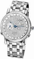 Ulysse Nardin GMT +/- Perpetual Mens Wristwatch 320-89BAG-8/091