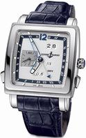 Ulysse Nardin Quadrato Dual Time Perpetual Mens Wristwatch 320-90/61