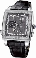 Ulysse Nardin Quadrato Dual Time Perpetual Mens Wristwatch 320-90B/69