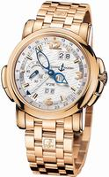 Ulysse Nardin GMT +/- Perpetual 42mm Mens Wristwatch 322-66-8/91