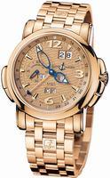 Ulysse Nardin GMT +/- Perpetual 42mm Mens Wristwatch 322-66-8