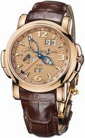Ulysse Nardin GMT +/- Perpetual 42mm Mens Wristwatch 322-66