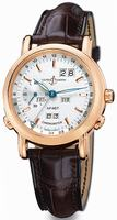 Ulysse Nardin GMT +- Perpetual Limited Edition Mens Wristwatch 322-88.91