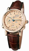 Ulysse Nardin GMT +/- Perpetual 40mm Mens Wristwatch 322-88