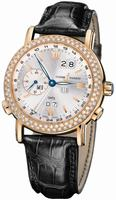 Ulysse Nardin GMT +/- Perpetual 38.5mm Mens Wristwatch 326-28