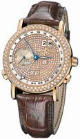 Ulysse Nardin GMT +/- Perpetual Mens Wristwatch 326-28/091