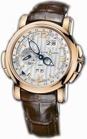 Ulysse Nardin GMT +/- Perpetual 42mm Mens Wristwatch 326-60/60