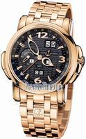 Ulysse Nardin GMT +/- Perpetual 42mm Mens Wristwatch 326-60-8/62