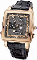 Ulysse Nardin Quadrato Dual Time Perpetual Mens Wristwatch 326-90/69