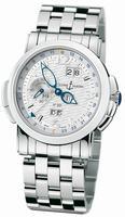 Ulysse Nardin GMT +/- Perpetual Mens Wristwatch 329-60-8