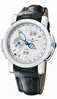 Ulysse Nardin GMT +/- Perpetual Mens Wristwatch 329-60