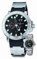 Ulysse Nardin Marine Aqua Perpetual Mens Wristwatch 333-88-3/92