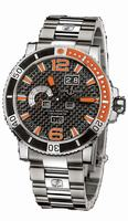 Ulysse Nardin Acqua Perpetual Mens Wristwatch 333-90-7M