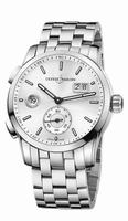 Ulysse Nardin Dual Time Manufacture Mens Wristwatch 3343-126-7/91