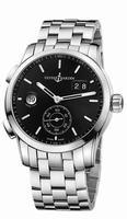 Ulysse Nardin Dual Time Manufacture Mens Wristwatch 3343-126-7/92