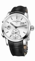 Ulysse Nardin Dual Time Manufacture Mens Wristwatch 3343-126/91