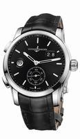 Ulysse Nardin Dual Time Manufacture Mens Wristwatch 3343-126/92