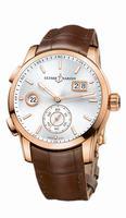 Ulysse Nardin Dual Time Manufacture Mens Wristwatch 3346-126/91