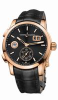 Ulysse Nardin Dual Time Manufacture Mens Wristwatch 3346-126/92