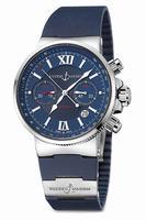 Ulysse Nardin Maxi Marine Chronograph Mens Wristwatch 353-66-3-323