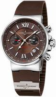 Ulysse Nardin Maxi Marine Chronograph Mens Wristwatch 353-66-3.355