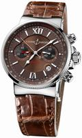 Ulysse Nardin Maxi Marine Chronograph Mens Wristwatch 353-66/355